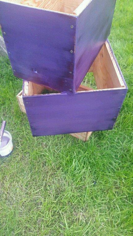 Mes premières ruches faites maison