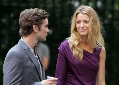 Chace Crawford et Blake Lively.