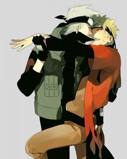 Kakashi x Naruto