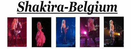 Bienvenu sur Shakira-Belgium