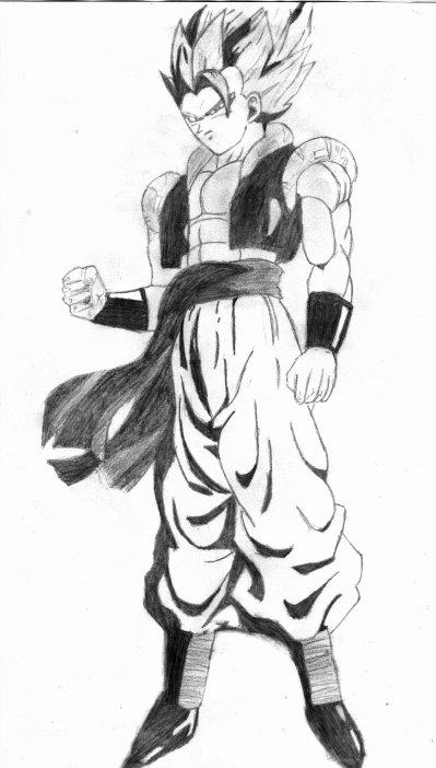 Gogeta Blog De Manga Drawing49