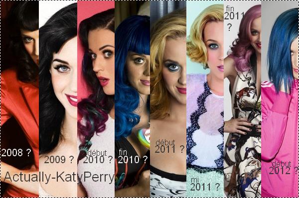 Quelles sont la ou les Katy Perry que vous préférées ?