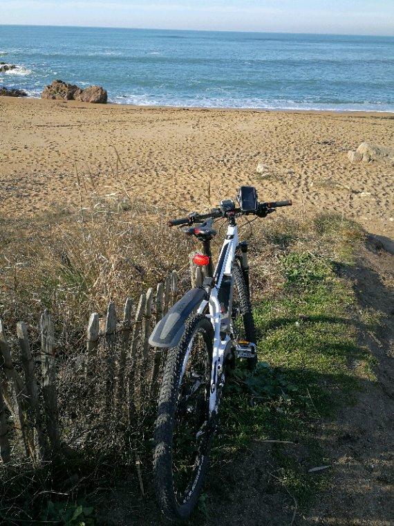 Les sables d'Olonne à vélos