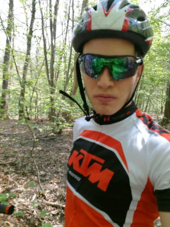 Ma Sortie VTT à la forêt de marly samedi 29 avril 2017