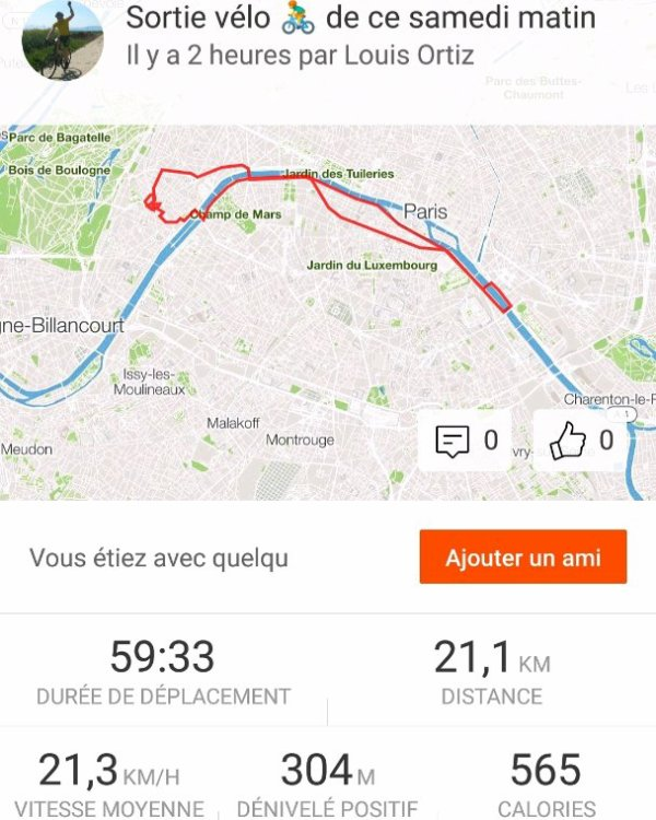 Sortie vélo matinale 16 juin 2018