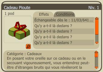 Un cadeau ? non du tout !