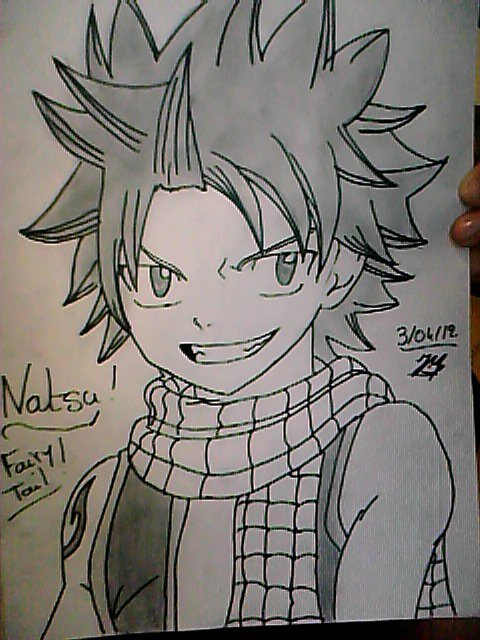 dessin manga fairy tail