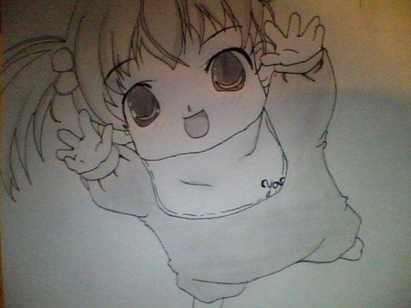 dessin manga bebe