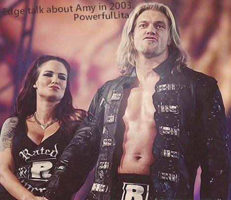Edge parle a propos de Amy en 2003.