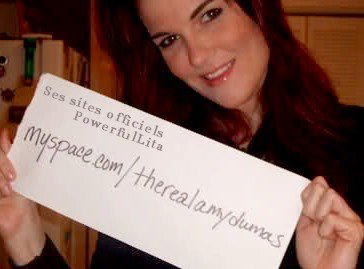 "Amy ""Lita"" Dumas: Ses sites officiels. ♥"