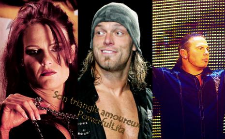 "Amy ""Lita"" Dumas"": Son triangle amoureux avec Edge et Matt Hardy. ♥"