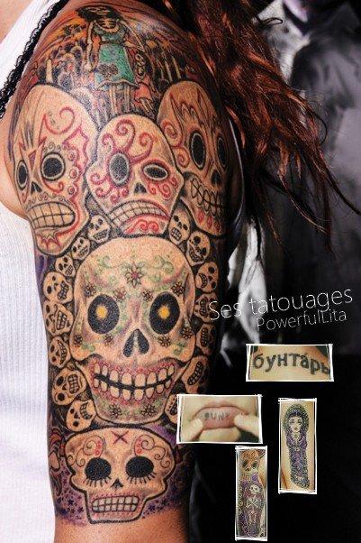 "Amy ""Lita"" Dumas: Ses tatouages. ♥"