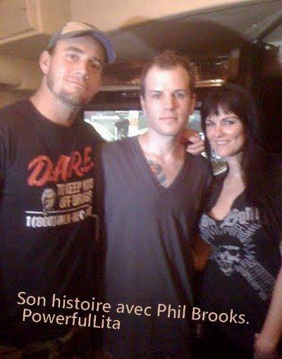 """Amy """"Lita"""" Dumas: Son histoires avec Phillip Brooks (CM Punk). ♥"""