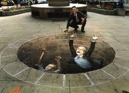 illusion d'optique par Julian beever
