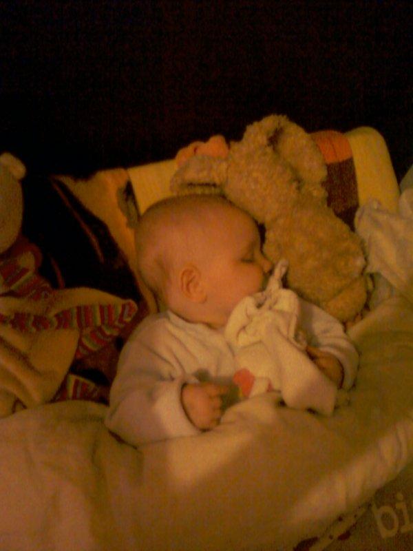 mon bébé malade