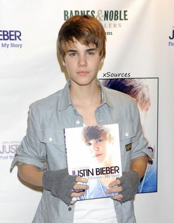 Justin est passer au coiffeur