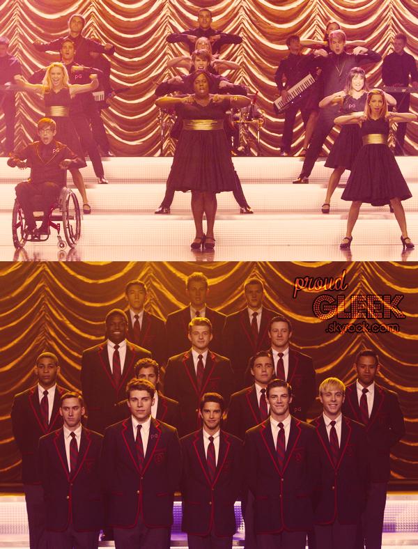 Voici les stills, les photo behind the scenes et les performances du 4x08 (Thanksgiving) ! :) + la vidéo promo du 4x09 (Swan Song)