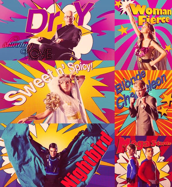 Voici quelques stills du 4x06 (Glease) ! :) + des photos et une vidéo promo pour le 4x07 (Dynamic Duets) !