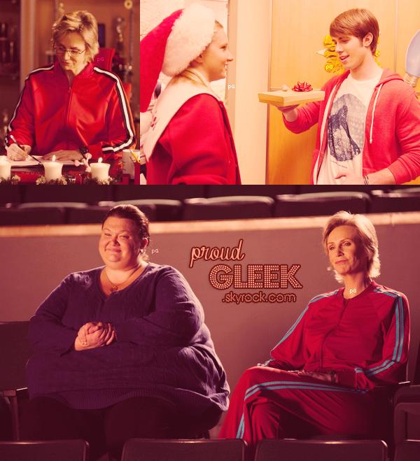 Voici les stills, les performances et les photos behind the scenes du 4x10 (Glee, Actually) ! :) Ainsi que les photos behind the scenes du 4x09 (Swan Song) et les vidéos promo du 4x11 (Sadie Hawkins) !
