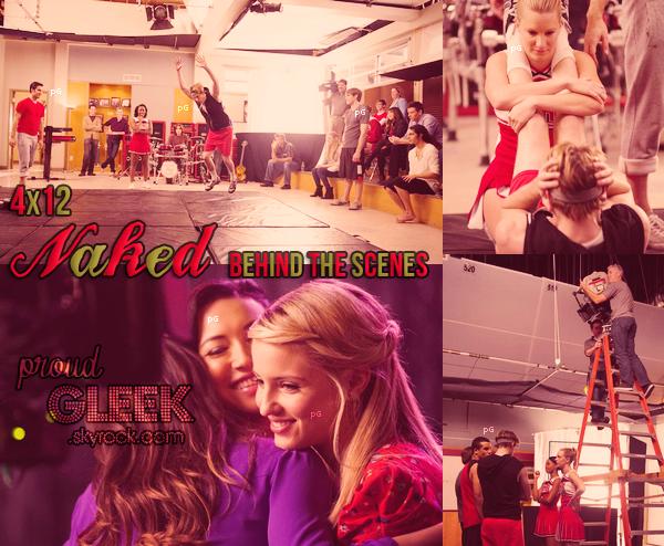 Voici les stills, le résumé, les photos behind the scenes et les performances du 4x12 (Naked) !