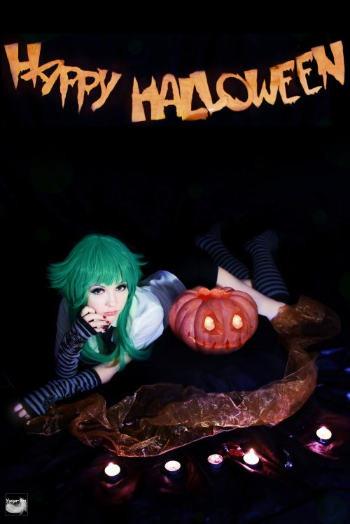 Cosplay Vocaloid Gumi as me :3