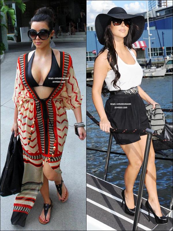 News-KimKardashian Deux Tenue D'été 2010 De Kim Kardashian Parmis Tan D'autre  La Quelle préfère tue parmis ces deux tenue La 1er , La 2er ? {Ou Aucune !}    News-KimKardashian