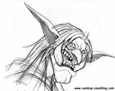 Dessin de troll j 39 aime sandy - Dessin de troll ...
