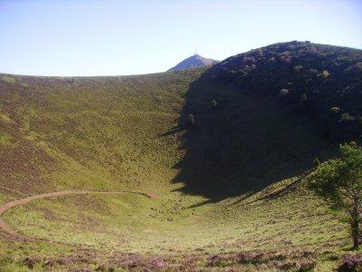 le volcan : son cratère !!!