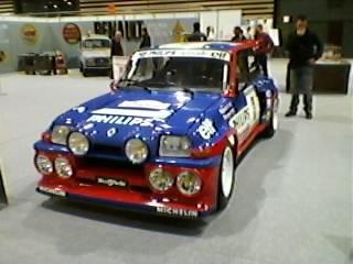 Renault 5 turbo de Jean RAGNOTTi