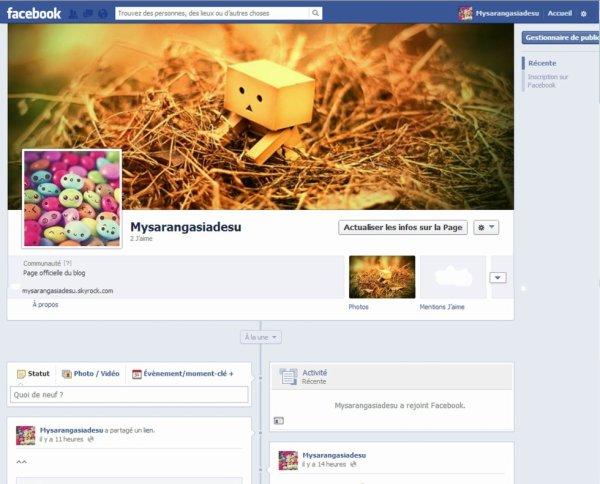 Mysarangasiadesu a un facebook