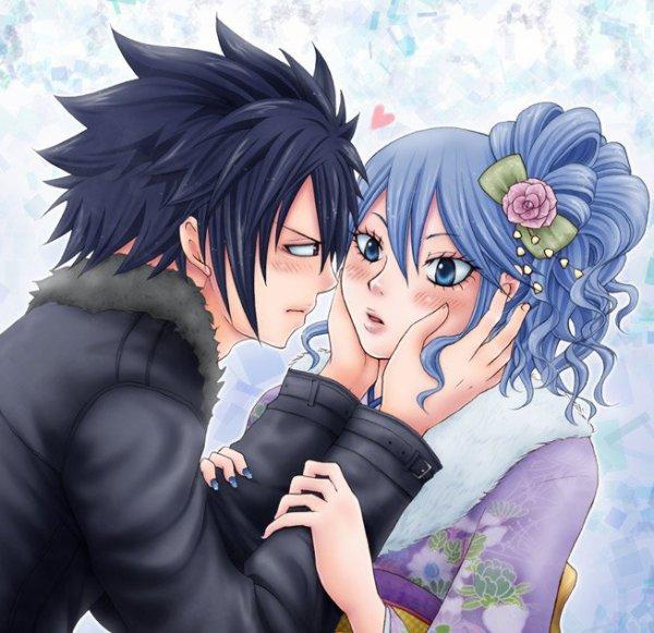 mes couple preferet dans fairy tail (par Chisa-Whit-chan)