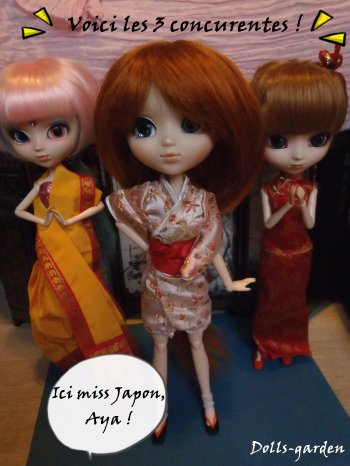 Story : Miss Monde 2014 pullip, les costumes traditionels !