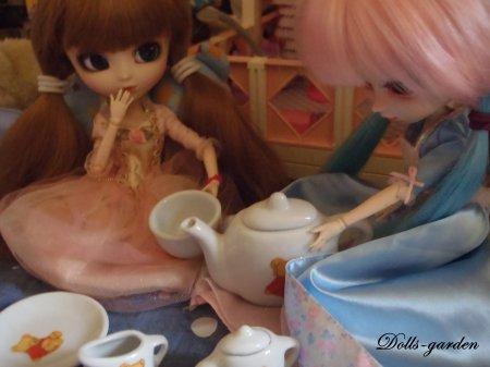 Séance : Le thé de nos princesses