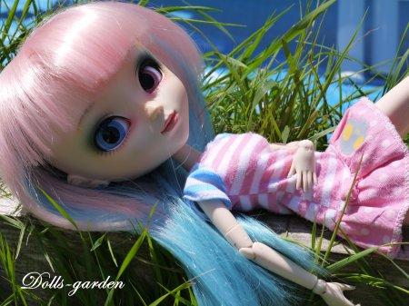 Akane en vacances !