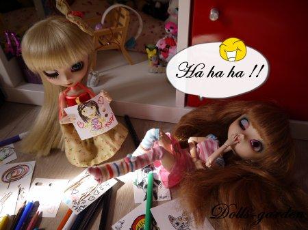 Story : Les dessins d'Emi et Kana ! Partie 1