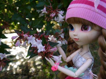 Akane dans l'espace vert