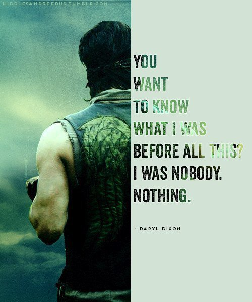 Daryl Dixon, notre héros.