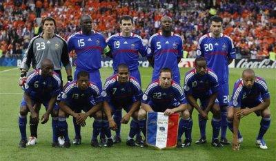 L 'équipe de france 2010