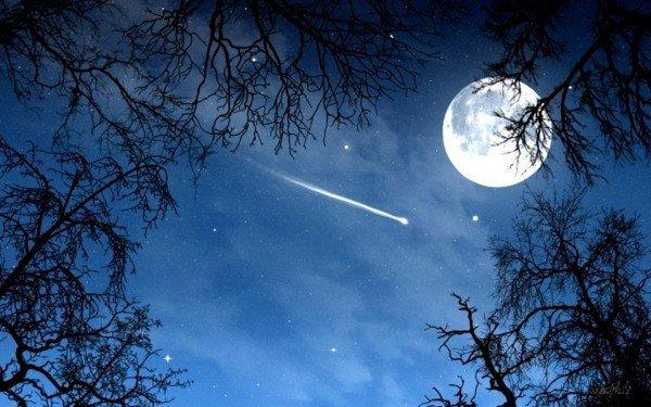 Une règle dit que quand on voit une étoile filante il faut faire un voeu, chaque voeu réalisé sont eux-mêmes des voeux de personnes qui veulent notre bonheur.