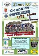 Coupe de Champagne Ardenne VTT à Haybes dimanche 22 Mars 2015