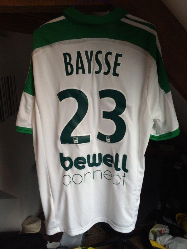 maillot ASSE porté par BAYSSE