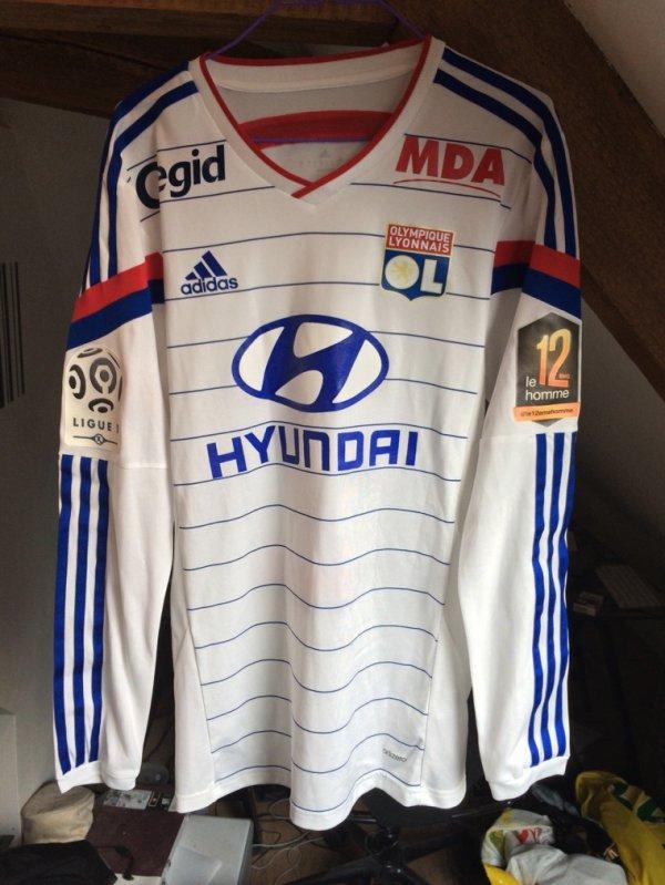 Maillot Lyon porté par MVUEMBA
