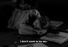 Je ne veux pas être moi.