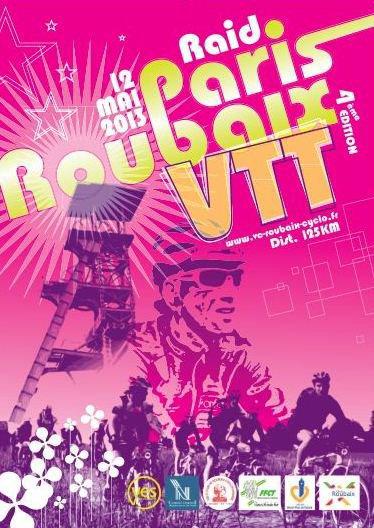 4 éme RAID PARIS ROUBAIX VTT.