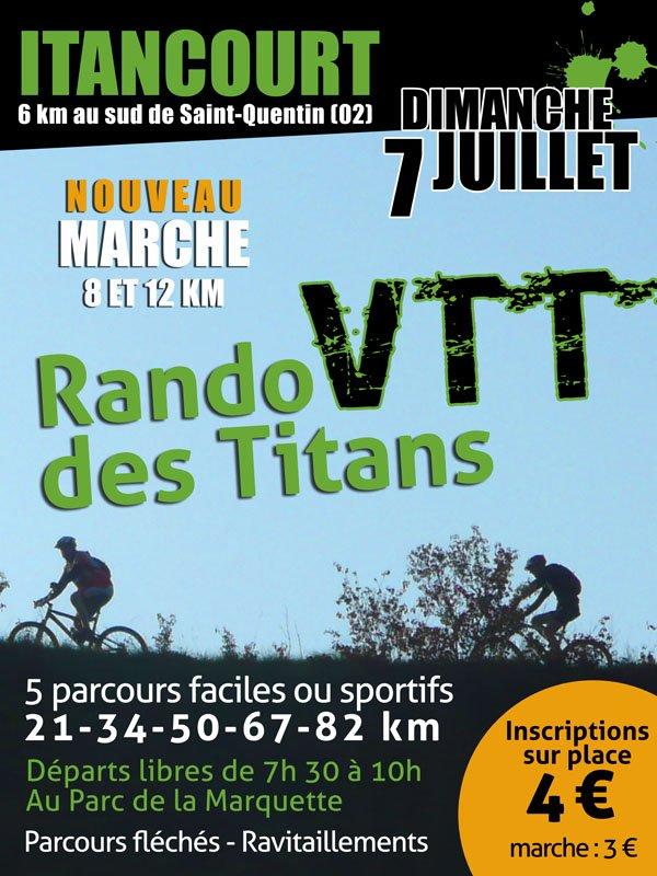 ITANCOURT Rando VTT des TITANS