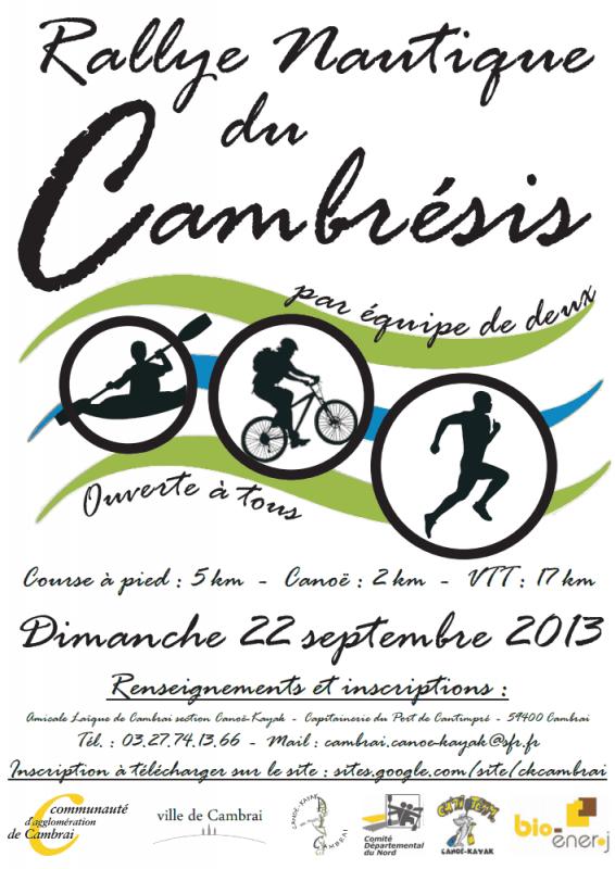 Rallye Nautique du Cambrésis