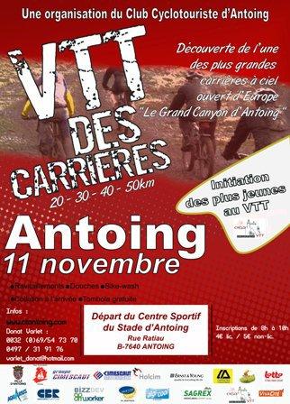 Sortie VTT du 11 novembre 2013