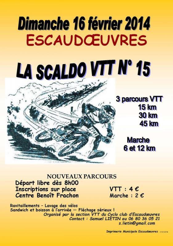 Sortie VTT du 16 février 2014