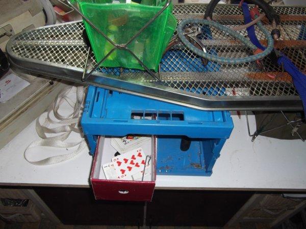 usage caisses pliante qualité pro à plat coté latéral ouvert pour acessibilité