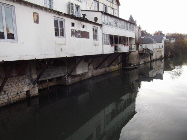 """pour """"Anazabe"""" bord du Loir à Vendôme"""